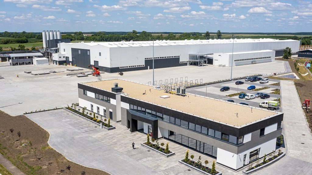 The largest prefabricated factory in Hungary has been delivered