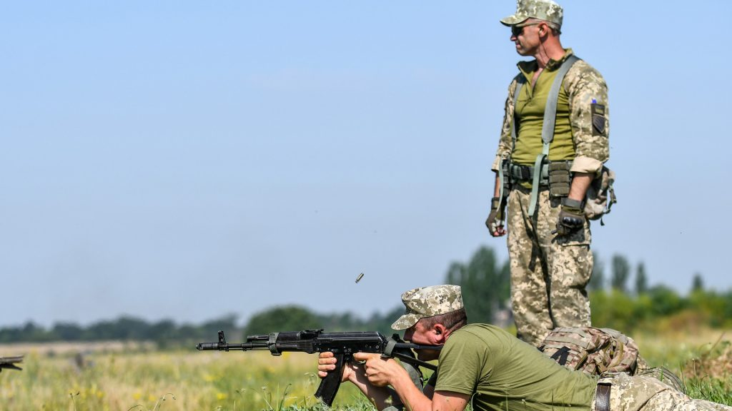 They commanded the Commander-in-Chief of the Ukrainian Armed Forces الأوكراني