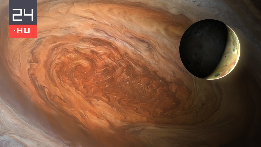 This is the sound of Jupiter's moon