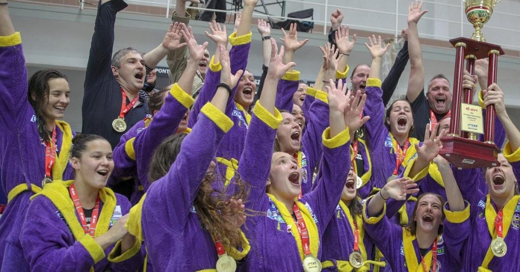 Women's water polo game: UVSE champion for the sixth time in a row