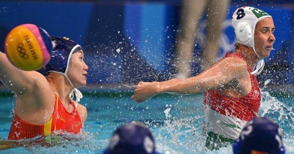 The Hungarian water polo team lost first place