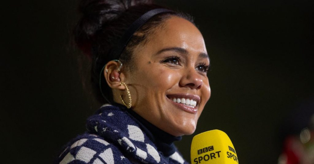 The former Arsenal star will be the first woman to comment on her post