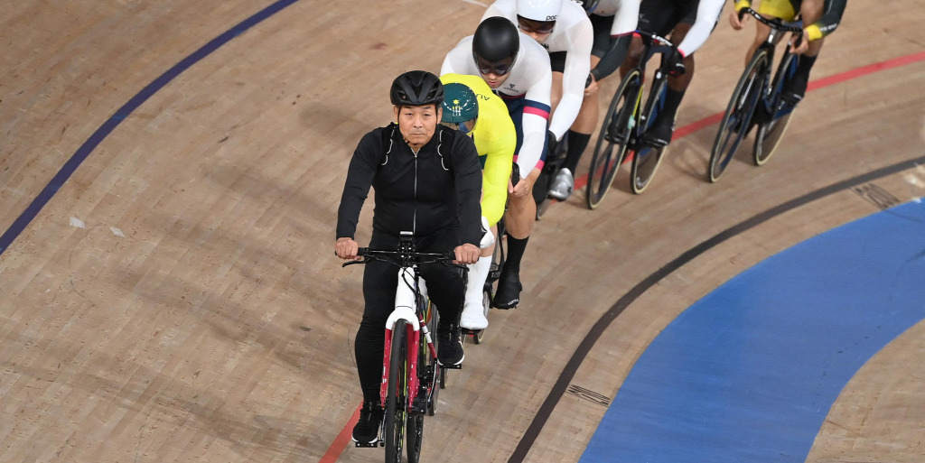 The circuit sports legend won the seventh Olympic gold medal