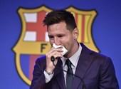 Messi said goodbye to Barcelona in tears