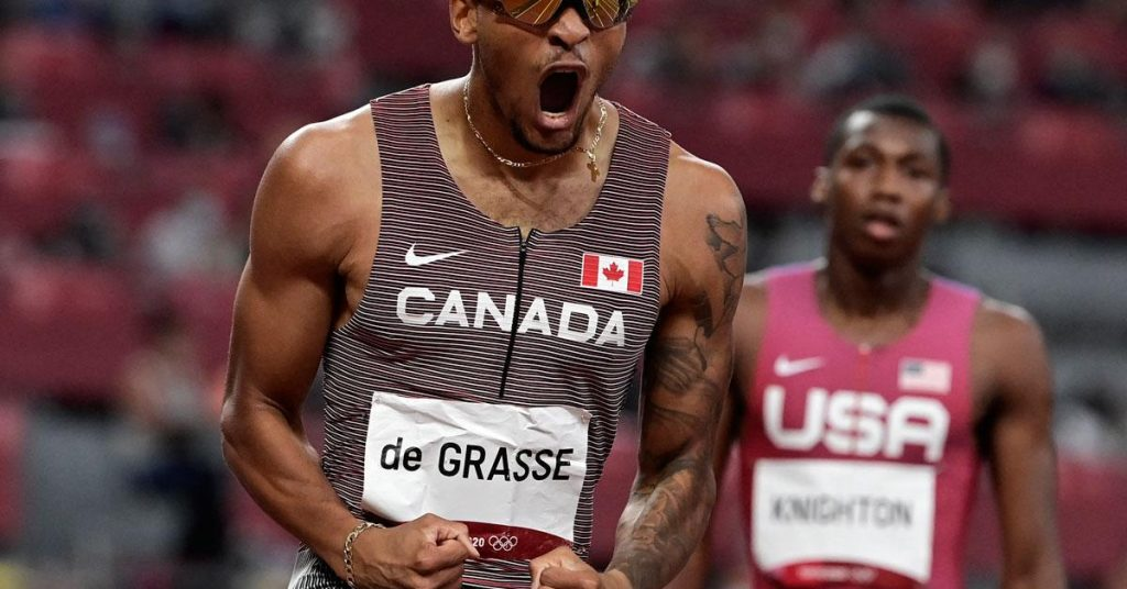 Tokyo 2020: Canadian gold in the men's 200m flat