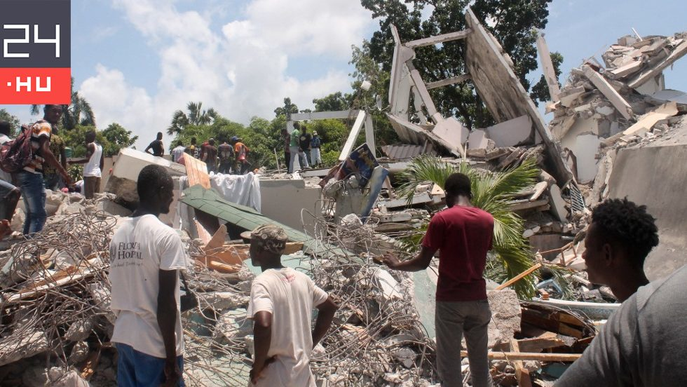 At least 300 people died in the earthquake in Haiti