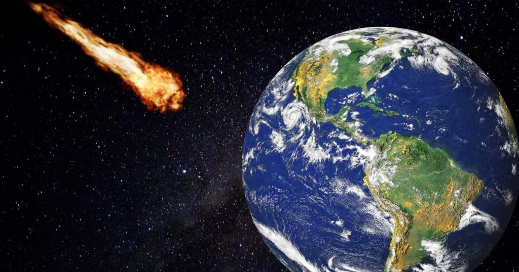 The asteroid could totally find us