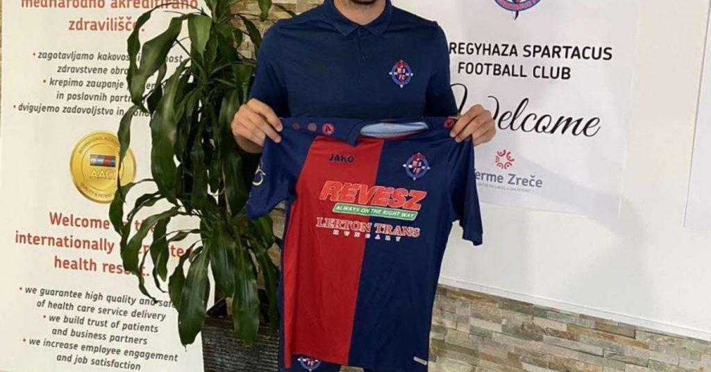 Note II: Nyregyhaza confirmed the presence of a Romanian striker