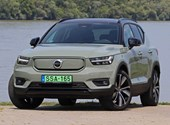 Android Electric Car: Test Recharge the Volvo XC40 with 408 HP