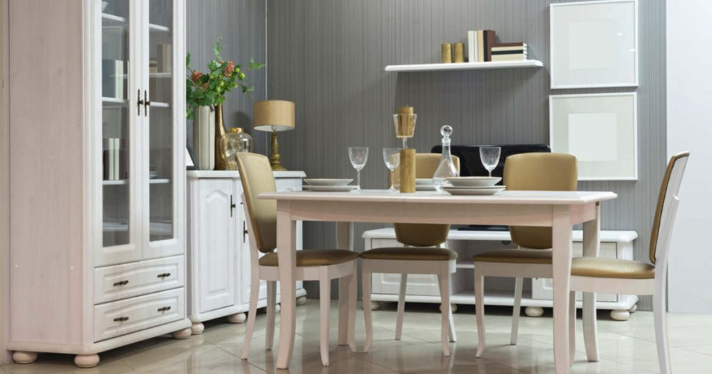 An important element of a modern kitchen is a sideboard