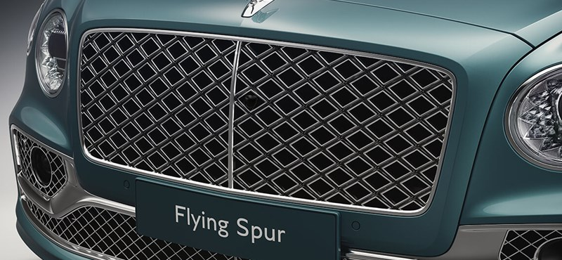 Luxury grille: here's the new Bentley Flying Spur Mulliner