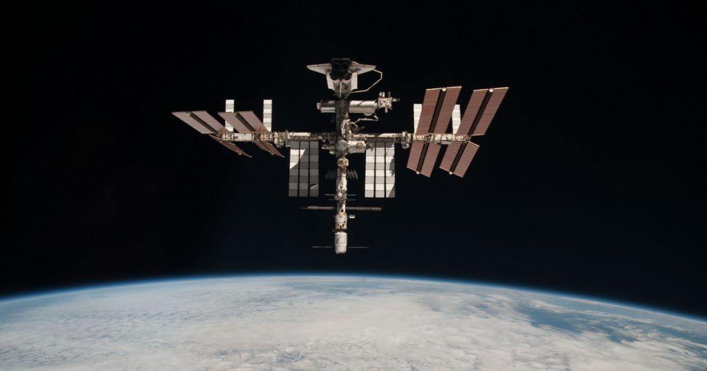 Catalog - Technical Sciences - New cracks found on the International Space Station