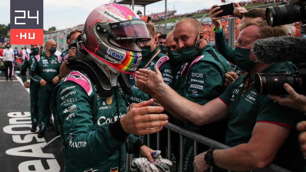 Despite the appeal, Vettel lost second place in the Hungarian Grand Prix
