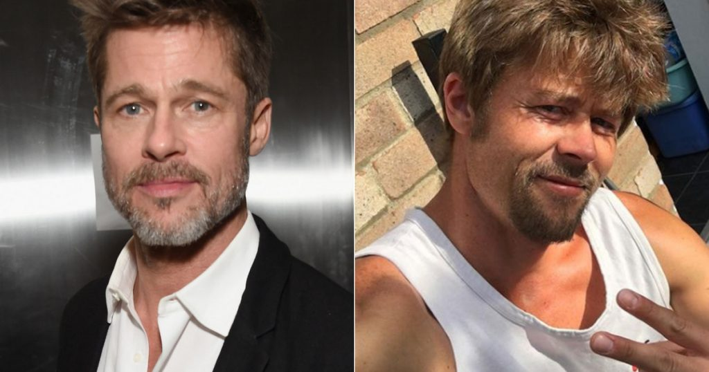 Everyone confuses this guy with Brad Pitt: his counterpart is regularly stopped on the street - Worldstar