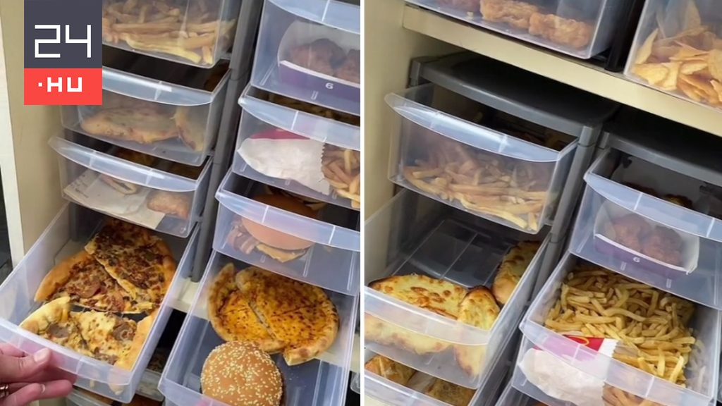 Hamburgers and pizza have been piling up in the cupboard for years — and none of them go bad