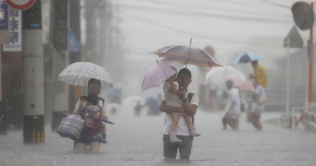 Index - Abroad - Five million people in Japan must be evacuated due to rain