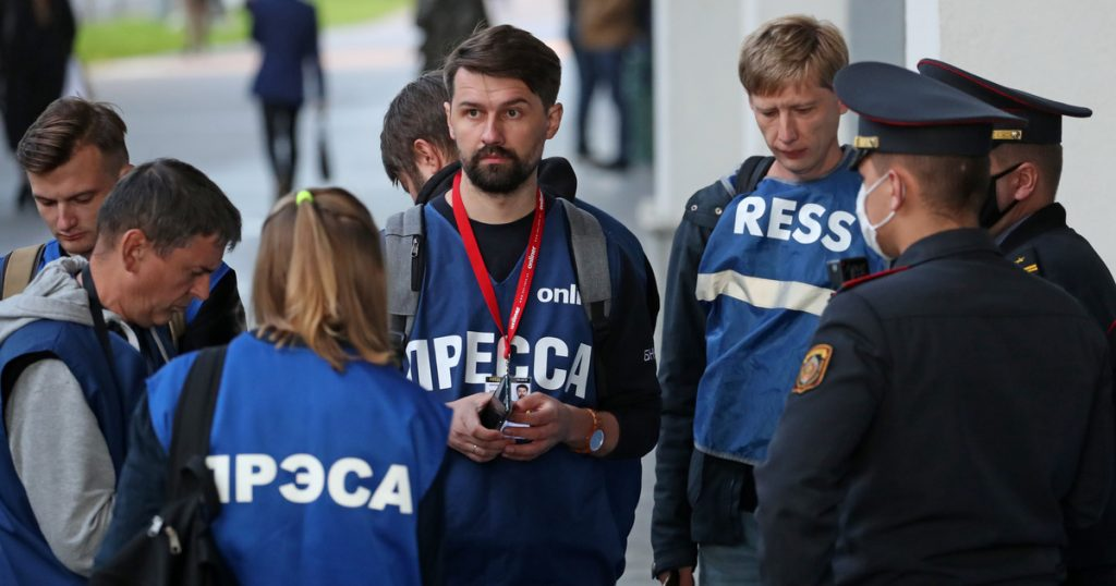 Index - Abroad - Freedom of the press in Belarus is ending, and the country's journalists' union is dismantled