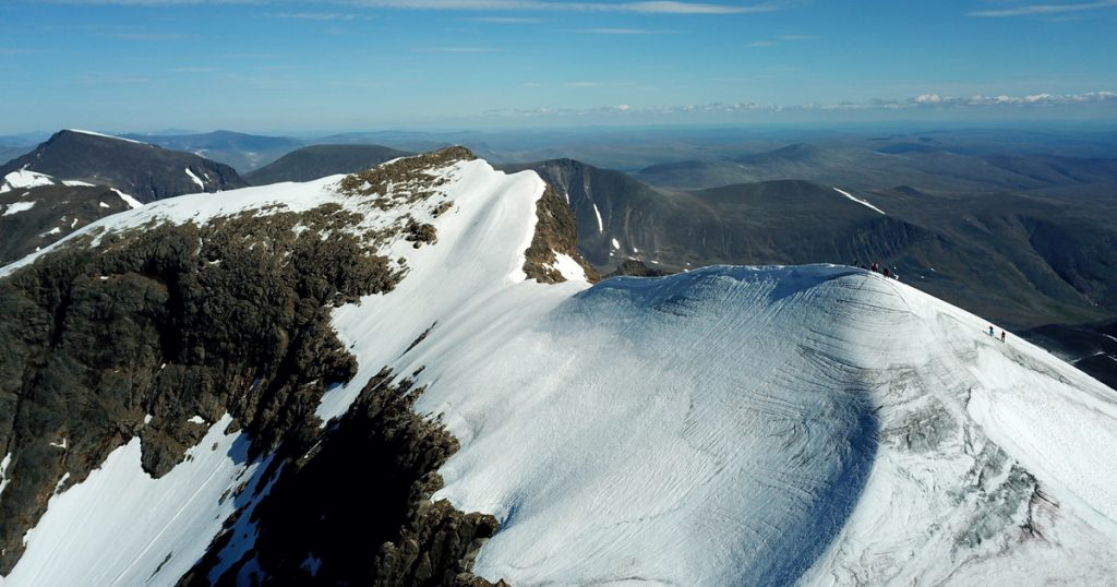 Index - Tech-Science - Sweden's largest mountain meets two meters per year