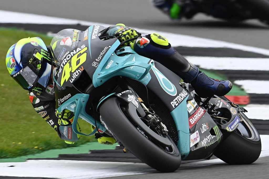 Rossi 'very sad' about his poor success at the last British Grand Prix