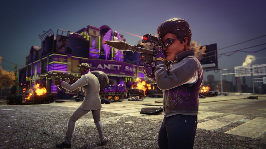 Saints Row: The Third Remastered is available for free
