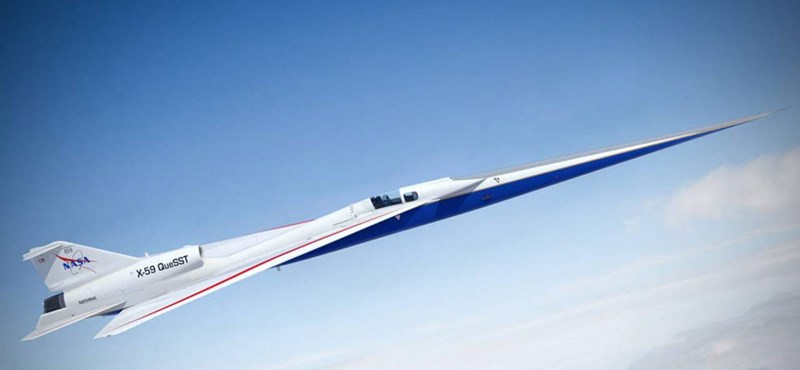 It flies at 1062 km / h and is very quiet, what is it?  New NASA plane