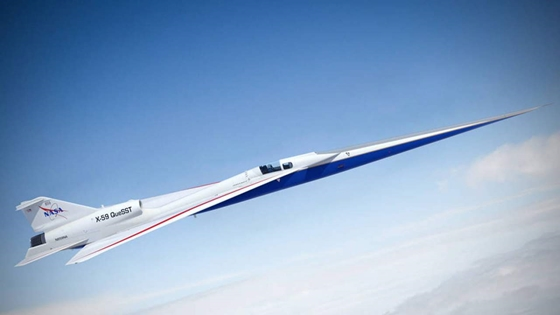 Tech: It flies at 1062mph and it's very quiet, what is it?  New NASA plane