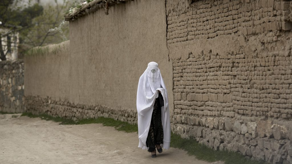 The Taliban leadership demanded that Afghan women stay at home