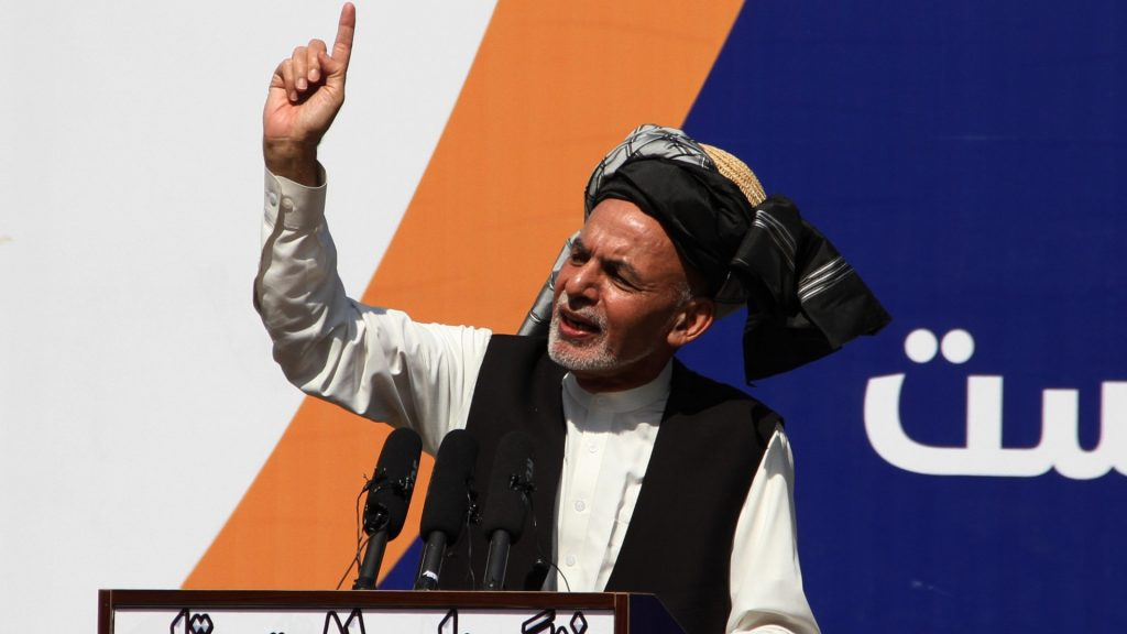 The fleeing Afghan president spoke: The Taliban have won, their responsibility for the fate of the country