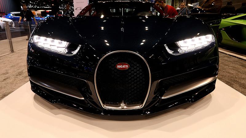 The merger of Bugatti with the Croatian company Rimac