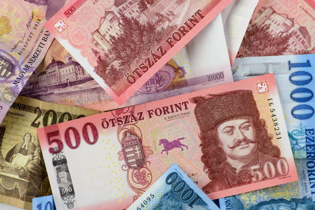 These banknotes were in the first 75 years of the forint