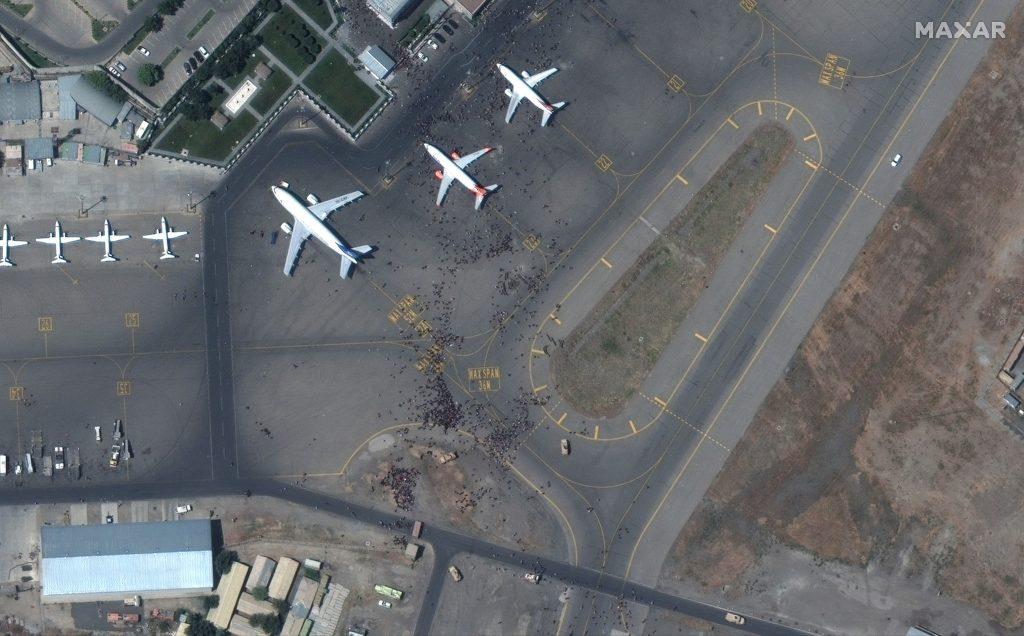 Traffic resumed at Kabul airport