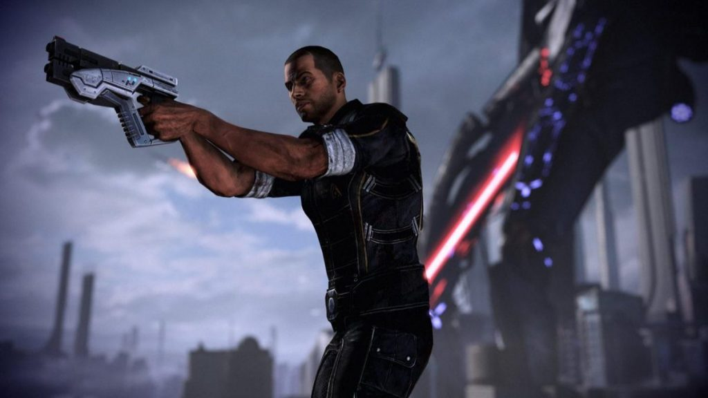 It's possible that BioWare has switched the graphics engine into the new Mass Effect episode