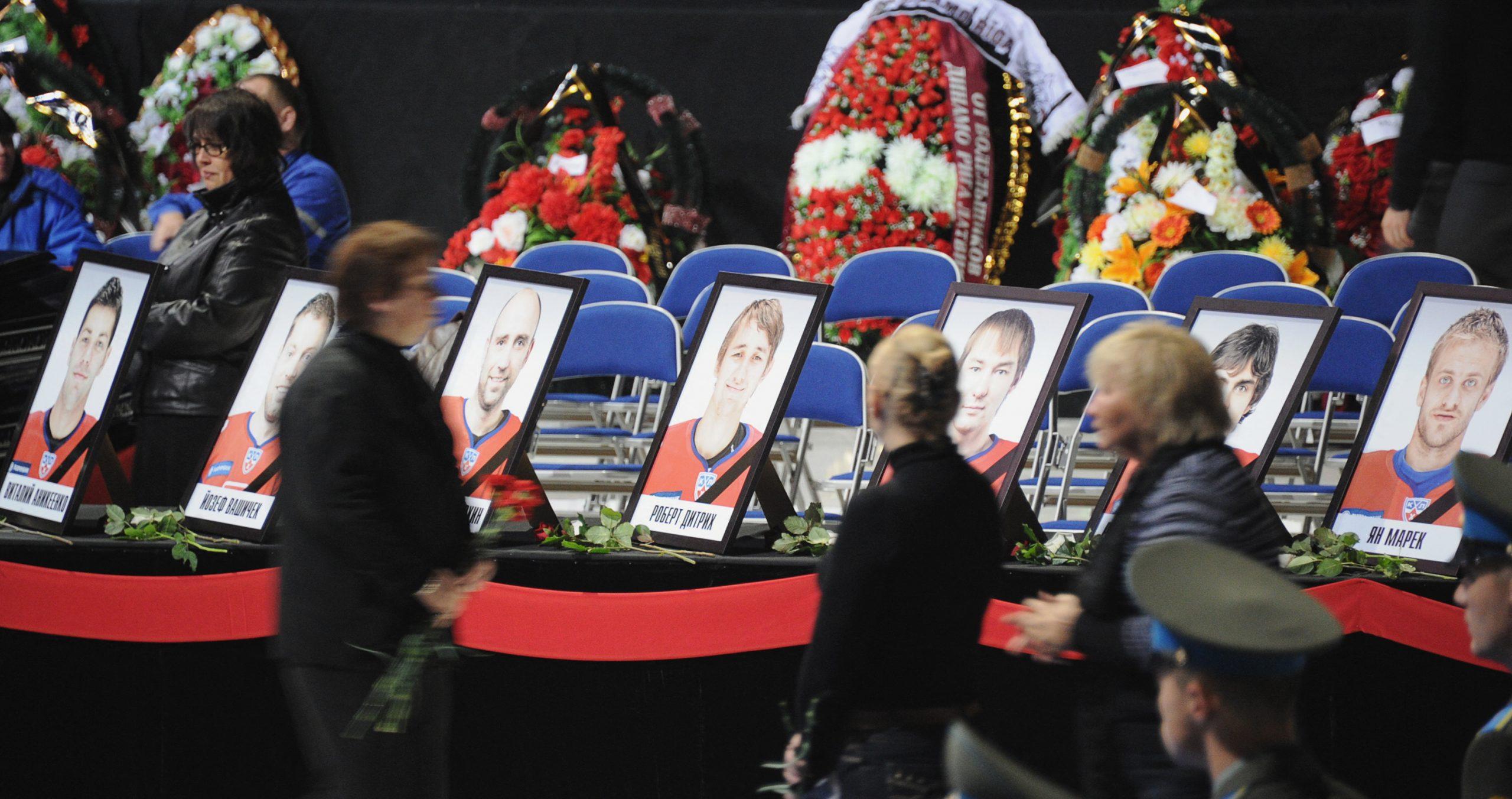 Wing tragedy: Russian hockey team Lokomotiv Yaroslavl crash
