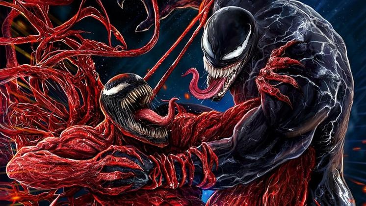 A very cool animated poster for Venom 2, in which there is no good straw in the game Bloodhound in the epic battle has arrived