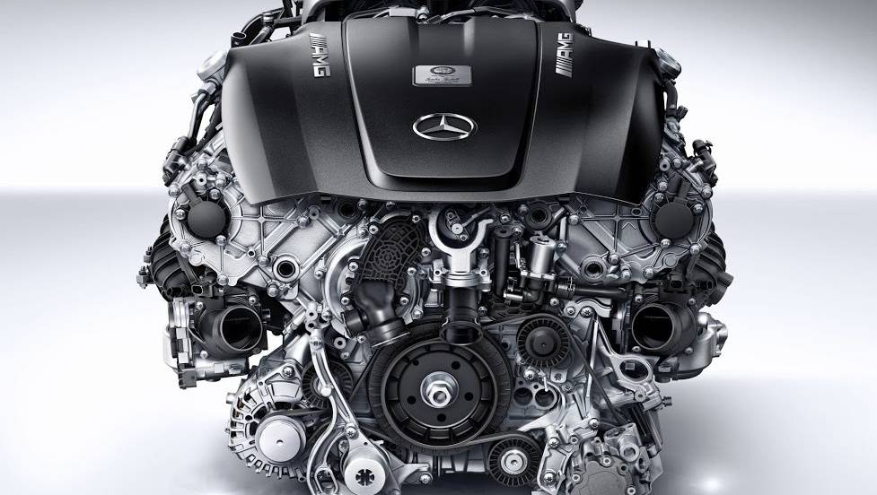 Totalcar - Magazine - There is a problem with the AMG V8, but it will be for a long time