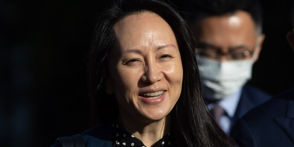 After nearly three years, Huawei's supreme leader was released
