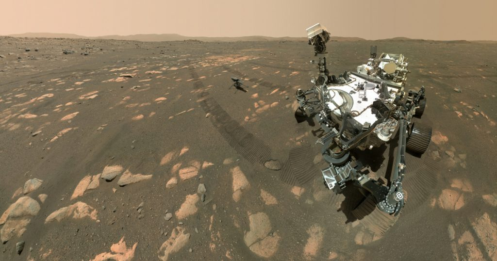 Catalog - Technical Sciences - NASA's Mars collecting the perfect rock sample