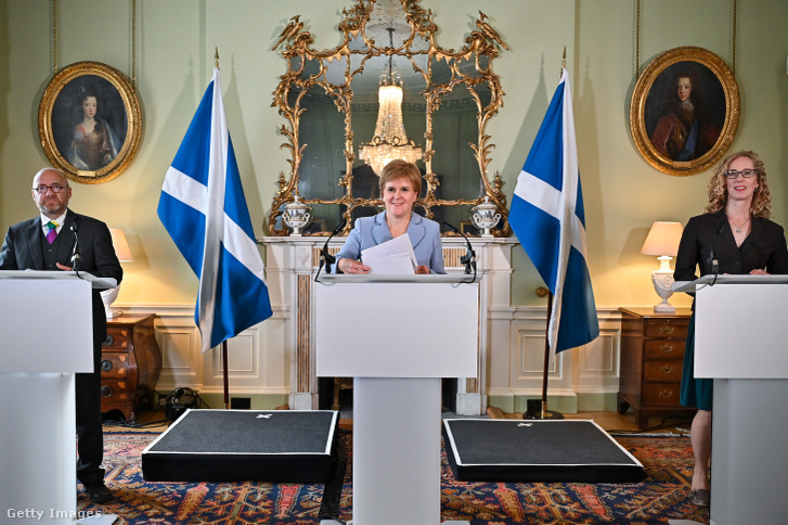 Index - Abroad - The Scottish National Party has called the Greens for a second independence referendum