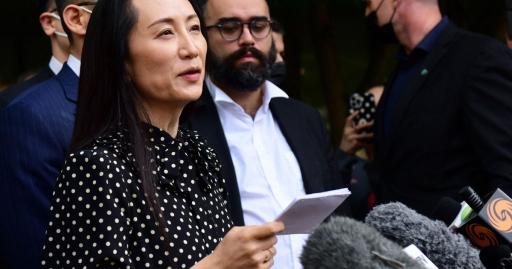 Index - Overseas - End of scandal, Canada expels Huawei chief