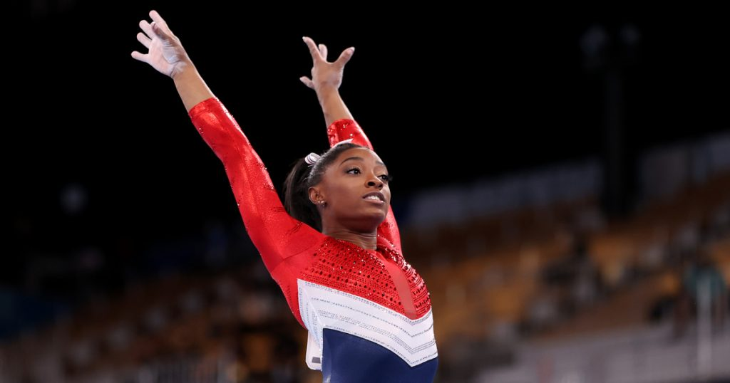 Index - Sports - Simone Biles in the spotlight once again: the Tour of America