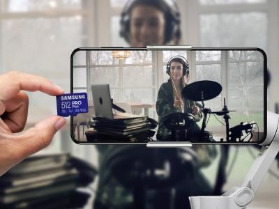 Prim News - Samsung introduced new microSD cards