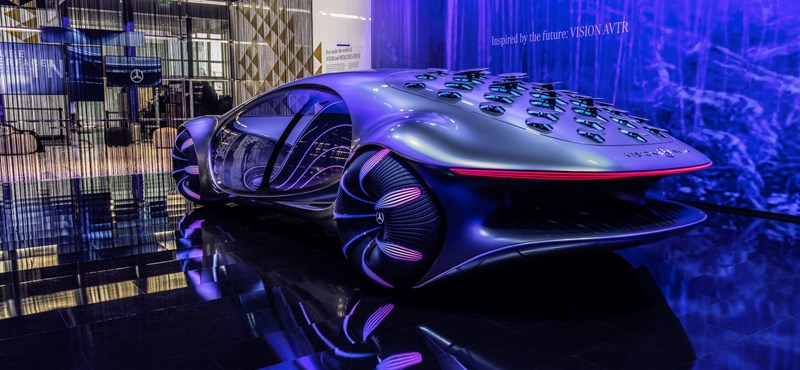 The new Mercedes can be driven with ideas