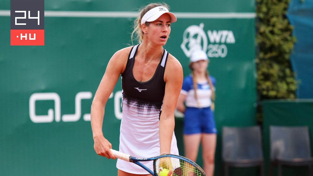 The Hungarian tennis player won the tournament in singles and doubles in one day