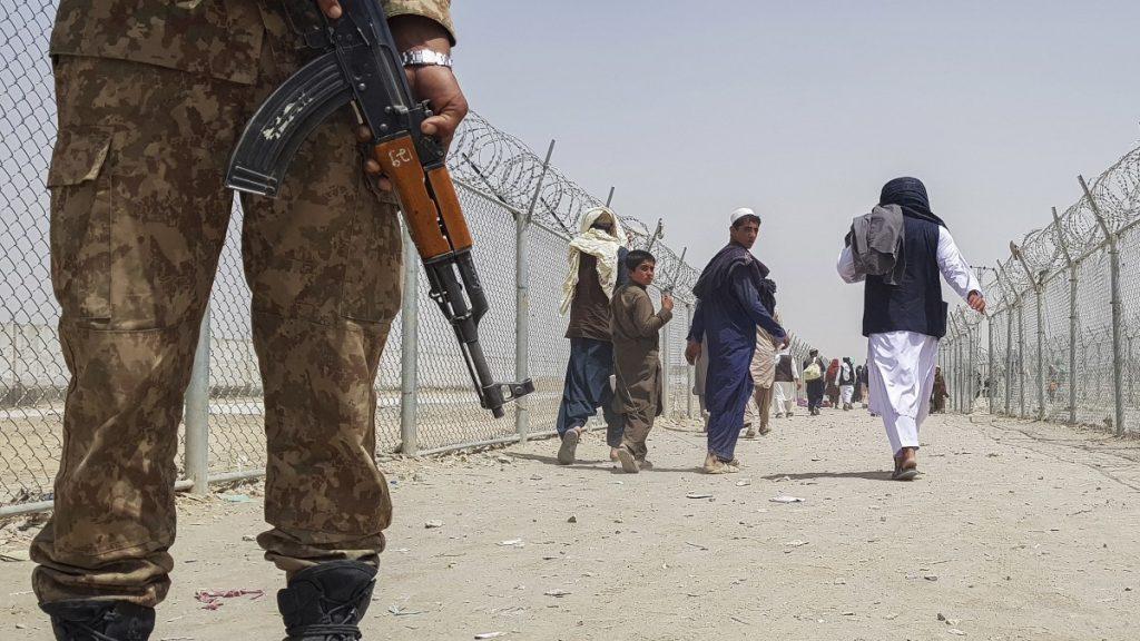 The Taliban threatens the Washington Mandner