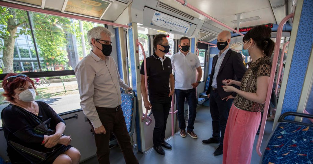 The fairytale tram is calling in Debrecen mortar