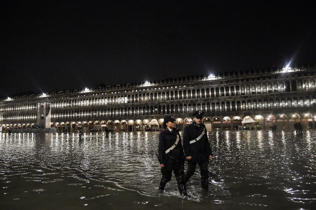 The water level in Venice may rise by more than a meter in the coming decades