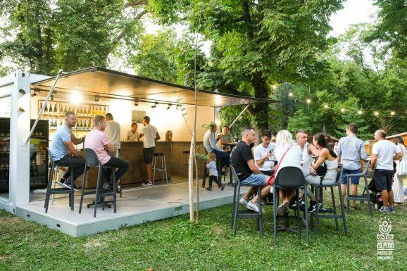 The Kossuth Garden in Satu Mare was full of life again