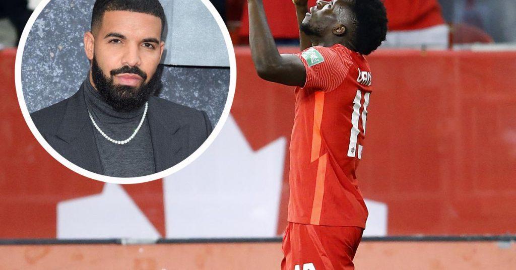 After an exhibition goal, even Drake sought the Bayern Munich award