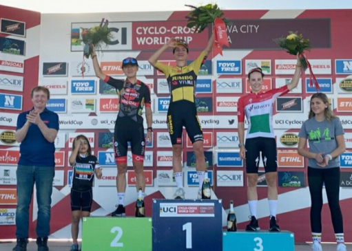 Fez Cata Blanca podium in the World Cup series for the first time