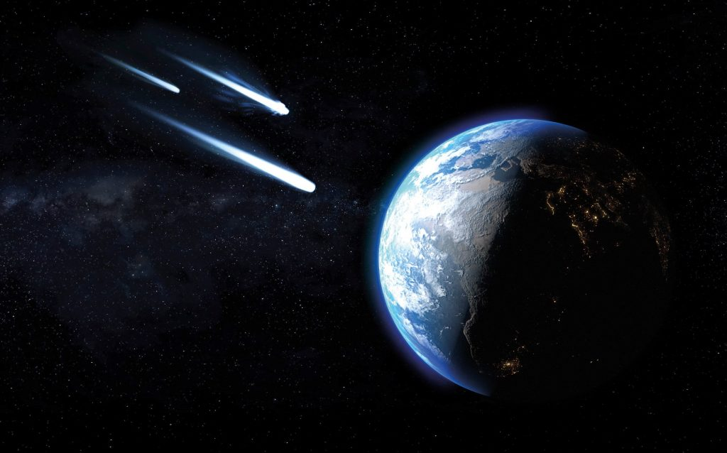 Asteroids hit Earth ten times earlier than thought